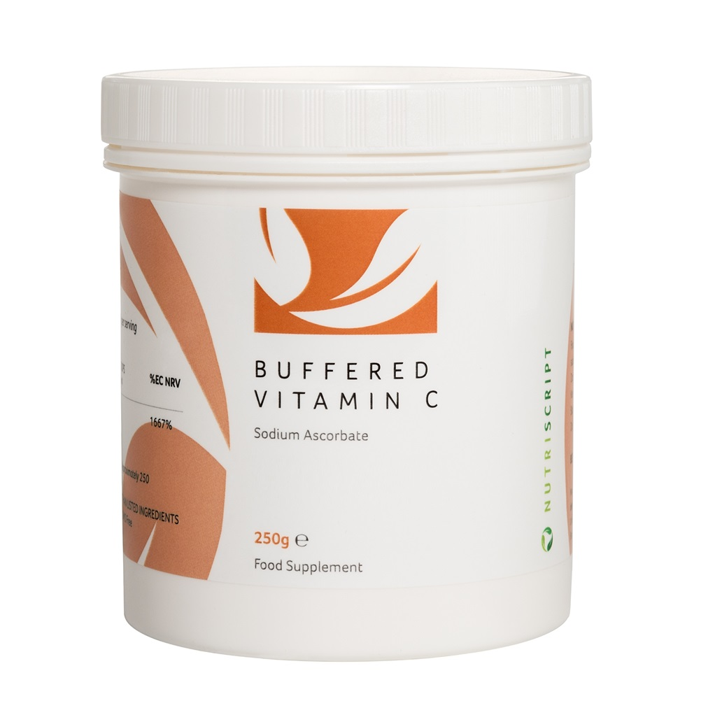 buffered vitamin c quali c sodium ascorbate nutriscript uk europe