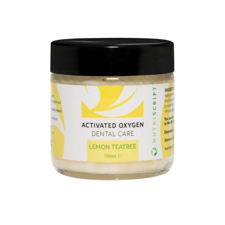 ozonated olive oil dental lemon teatree