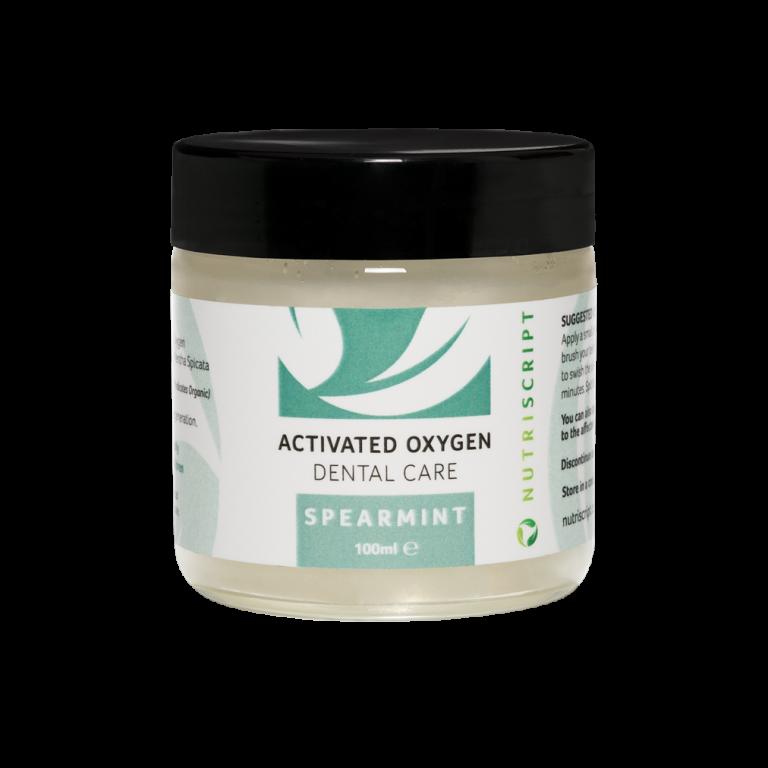 ozonated olive oil dental care spearmint